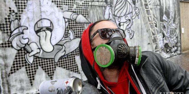 Article de L'EST RÉPUBLICAIN | L'artiste Petit Fantôme traverse le MUR